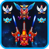 Chicken Shooter: Space Shooting Android thumb