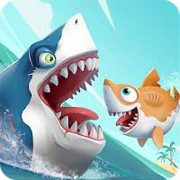 Hungry Shark Heroes 2.4 Apk + Data for Android