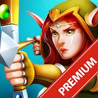 Defender Heroes: Castle Defense TD 3.9 Apk + Mod for Android